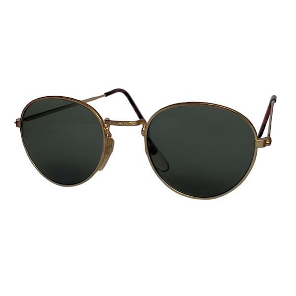 IE 053 Gold, Classic metal panto sunglasses