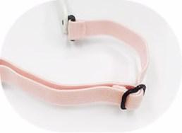 IE5635 baby pink adjustable elastic headband