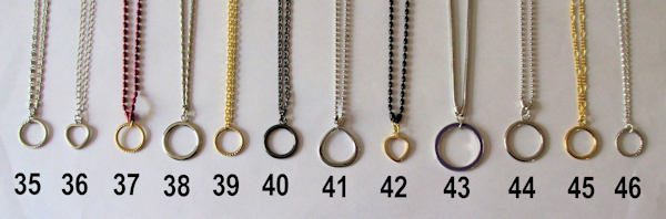 Pendants to hold your spectacles
