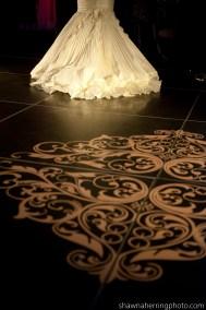 I Do Linens Dance Floor Wrap 1