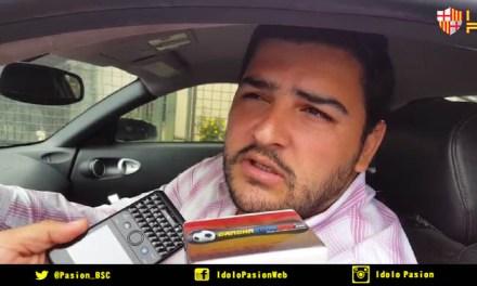 """Aquiles Álvarez: """"Sin Barcelona no hay campeonato"""""""