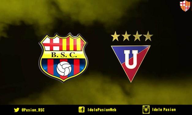 Liga de Quito vs Barcelona SC (En vivo)