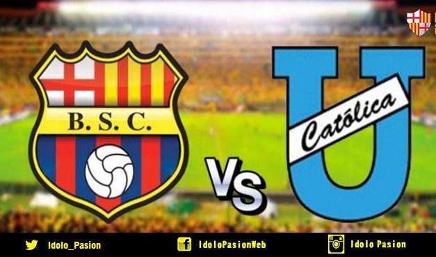 Barcelona SC vs U. Católica (En vivo)