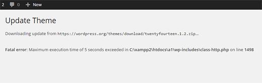 IDOLTV Một số lỗi thường gặp Wordpress 1