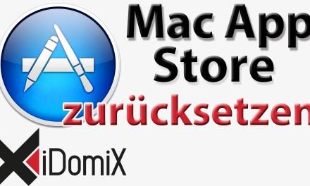 Mac App Store zurücksetzen Reset