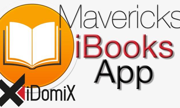 OS X Mavericks iBooks App