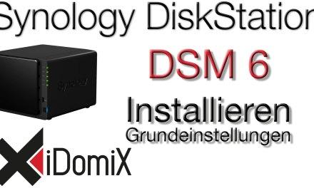 Synology DiskStation einrichten DSM 6 installieren Grundeinstellungen