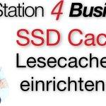 DiskStation 4 Business SSD Cache einrichten (Lesecache)