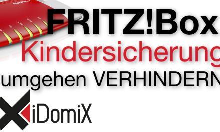 FRITZ!Box Kindersicherung umgehen verhindern (Filter, Webseiten sperren)