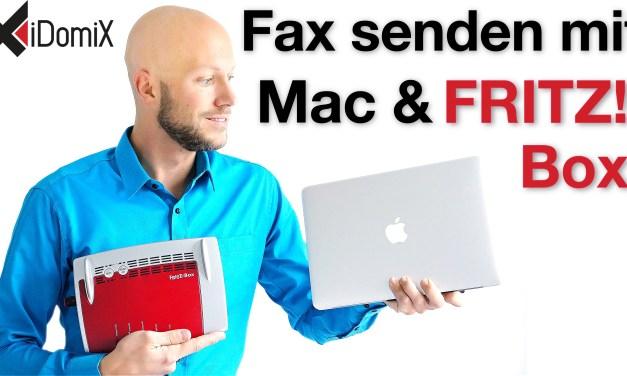 Mit Faxer Faxe vom Mac über die FRITZ!Box versenden