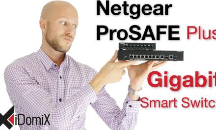Netgear ProSAFE Plus Gigabit Web Managed Smart Switch
