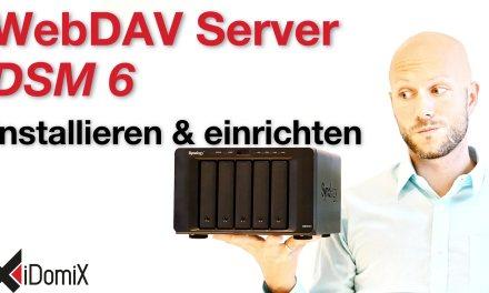 Synology DiskStation WebDAV Server DSM 6 installieren und einrichten