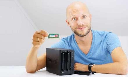 Synology DiskStation DS216+II RAM Upgrade