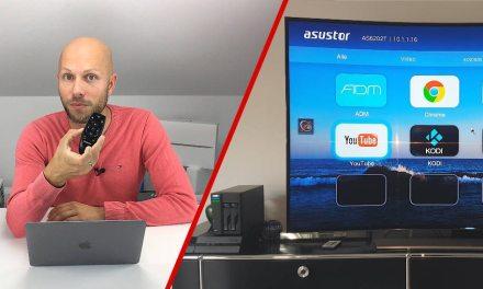 Asustor AS6202T als Multimedia Zentrale zu Hause 4K HDMI