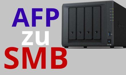 macOS AFP auf SMB zu DiskStation umstellen + SMB Time Machine Backup