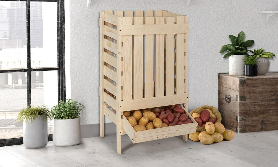 meuble de rangement pommes de terre