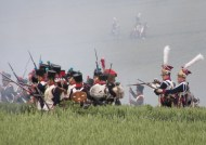 French attack on Hougoumont