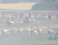 Final French cavalry charge