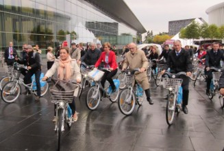 Luxembourg Ministers ride 7