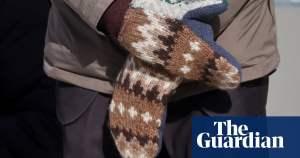 How to make Bernie Sanders' inauguration mittens   Knitting   The Guardian