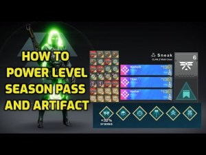 HOW TO POWER LEVEL SEASON PASS & ARTIFACT GUIDE // Destiny 2 Season of the Splicer