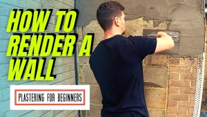 How To Render A Wall   COMPLETE BEGINNERS GUIDE…FULL PROCESS!