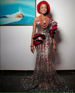 SEE SWEET LOVE!!! THESE AMAZING OUTFITS FOR TRADITIONAL MARRIAGES WILL MAKE YOU MOVE YOUR WEDDING DATE!  tradnaija 242x300