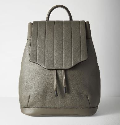 "Rag and Bone ""Pilot Backpack"" in Smoke"