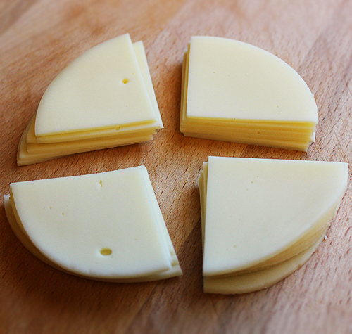 Provolone Quartered