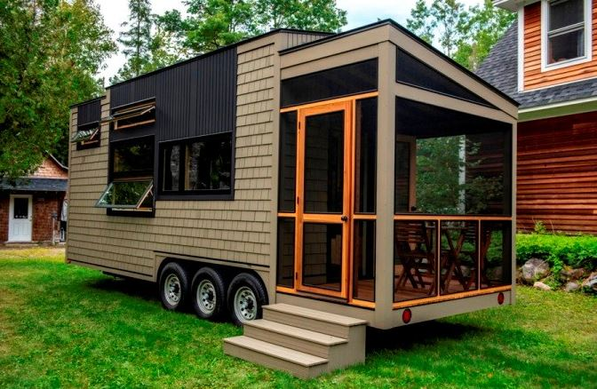 Tiny house on wheels regulations
