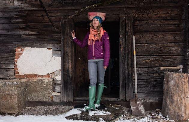 Molly Baker Skier