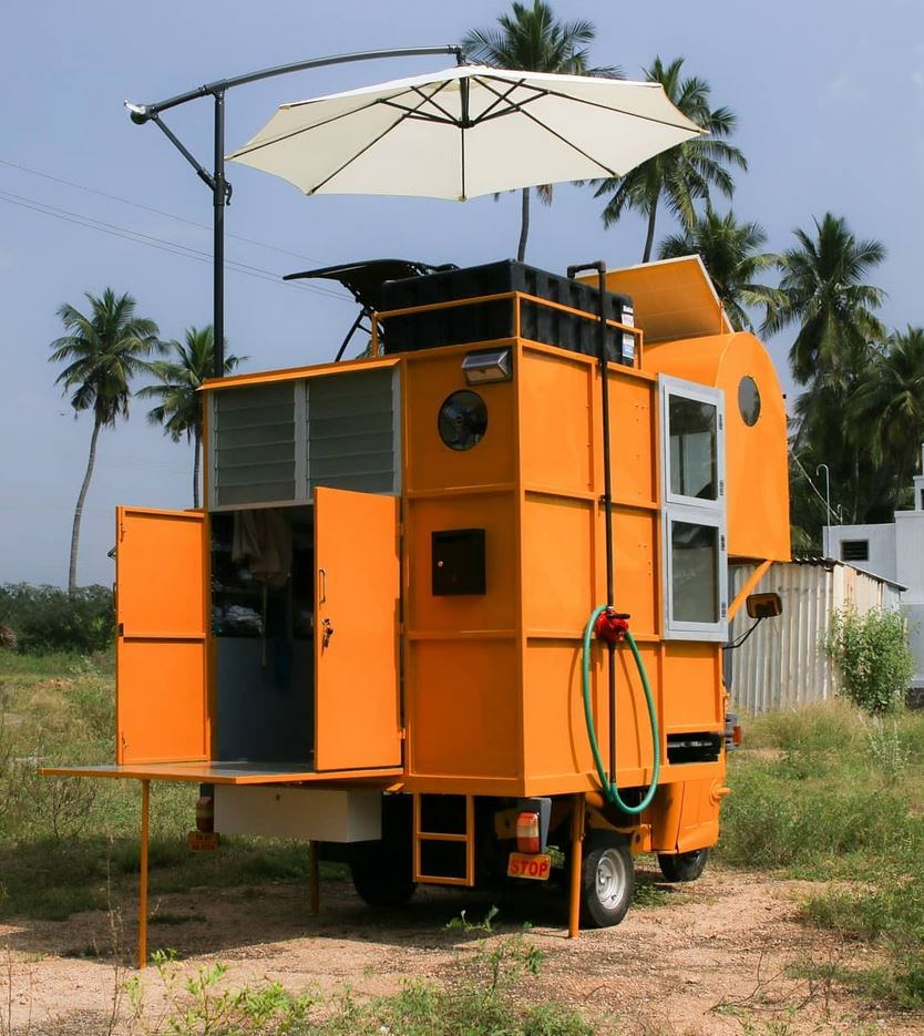 Rickshaw Camper