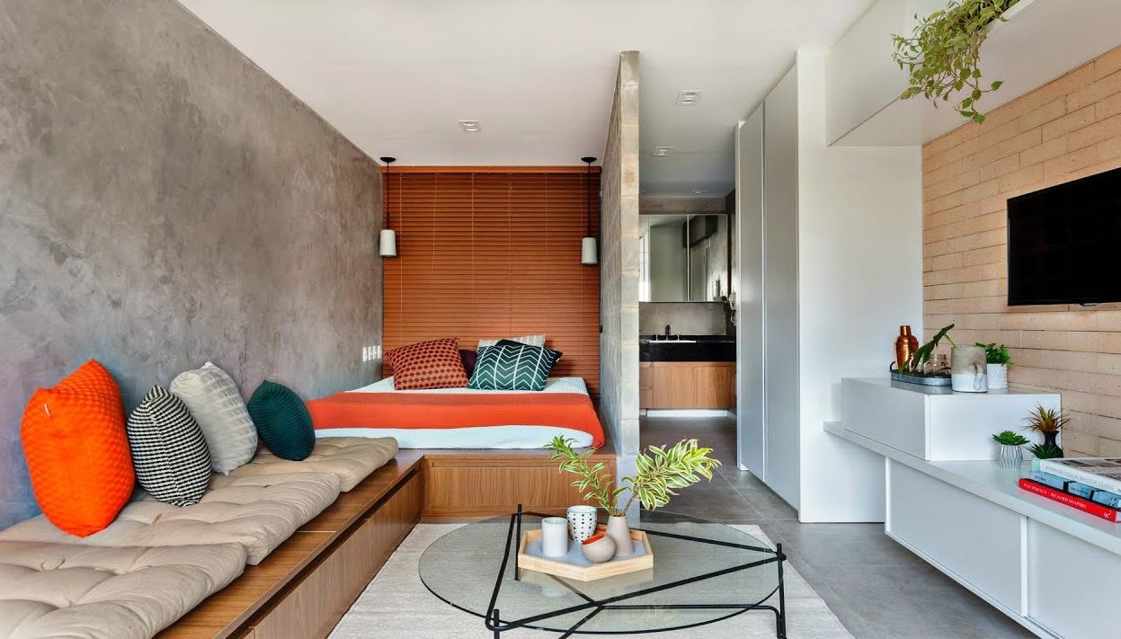 Modern small apartment designs