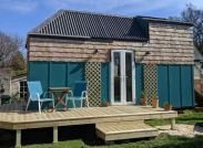 Laura and Christian's tiny house in Hampshire