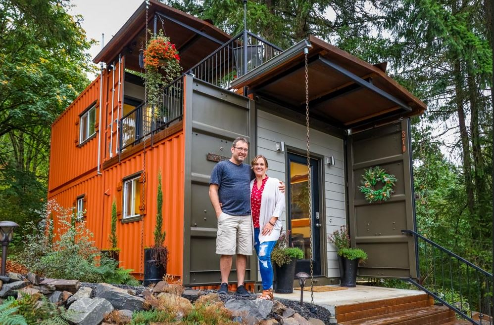 Types of Tiny Houses - Shipping container