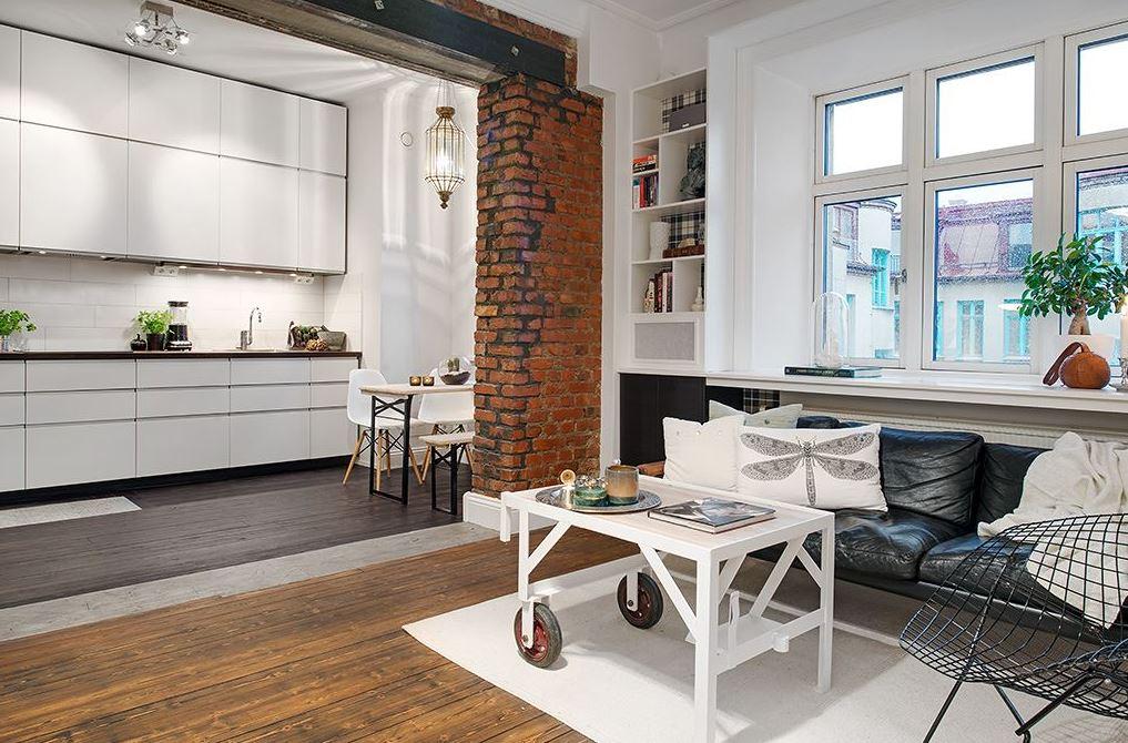 Scandinavian style studio