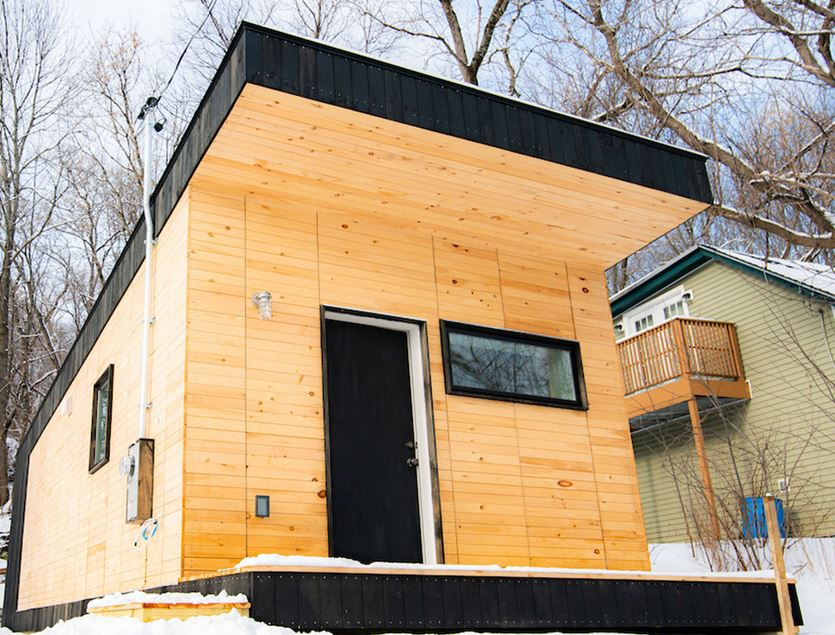 Norwich University Tiny House
