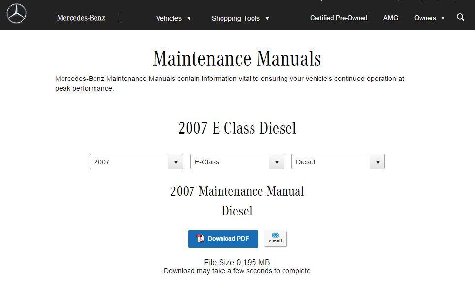 Om642 Service Manual