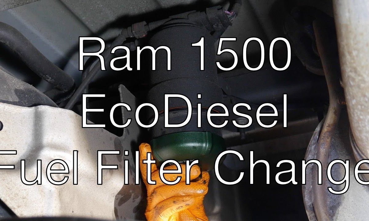 Ram 1500 Ecodiesel Fuel Filter Change Diesel News Info And Guides 2006 Chevy Colorado Replacement