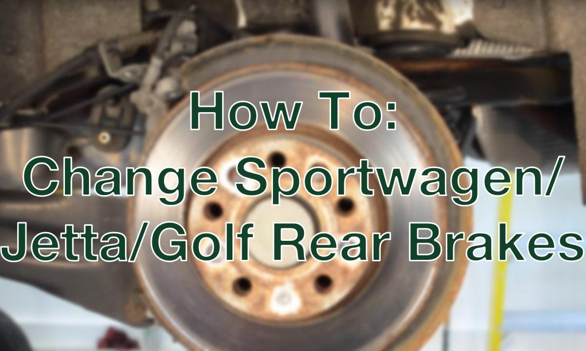 Mk5 Jetta Tdi 20055 2006 Diesel News Info And Guides 06 Sprinter Van Fuel Filter Mk V Golf Sportwagen Rear Brake Change How To