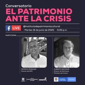 IDPC - Charla con nuestro director El patrimonio ante La crisis