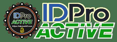 Logo Id Pro Aktif dan tulisan besar - ID Pro Aktif