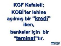 kgf kredisi nasıl alınır