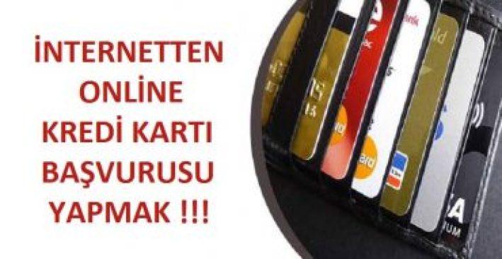 internetten kredi kartı başvurusu