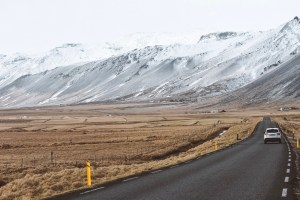 Driving in Iceland March 2019