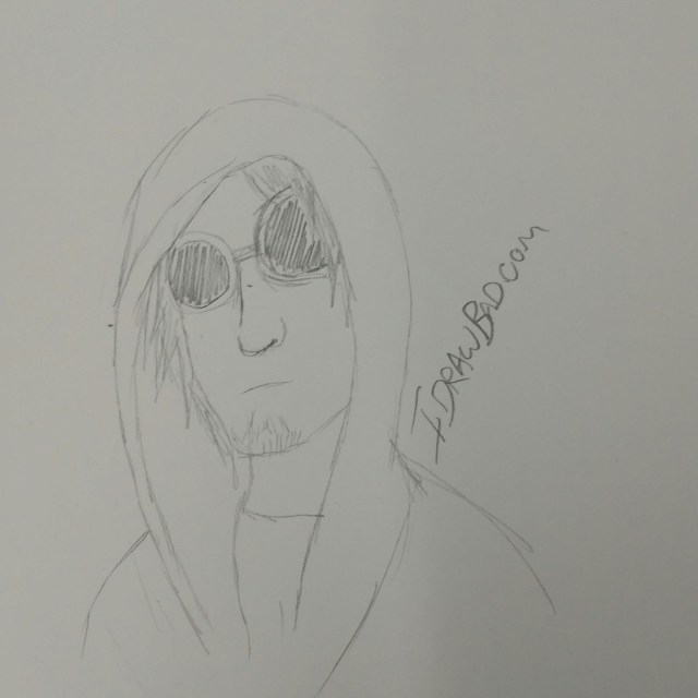 Pencil drawing of reddit gets drawn sinkingfast