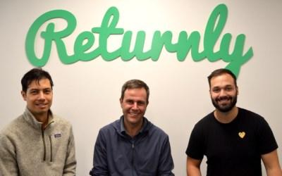Returnly levanta 17M€ en una ronda liderada por Craft Ventures y con el apoyo  TheVentureCity