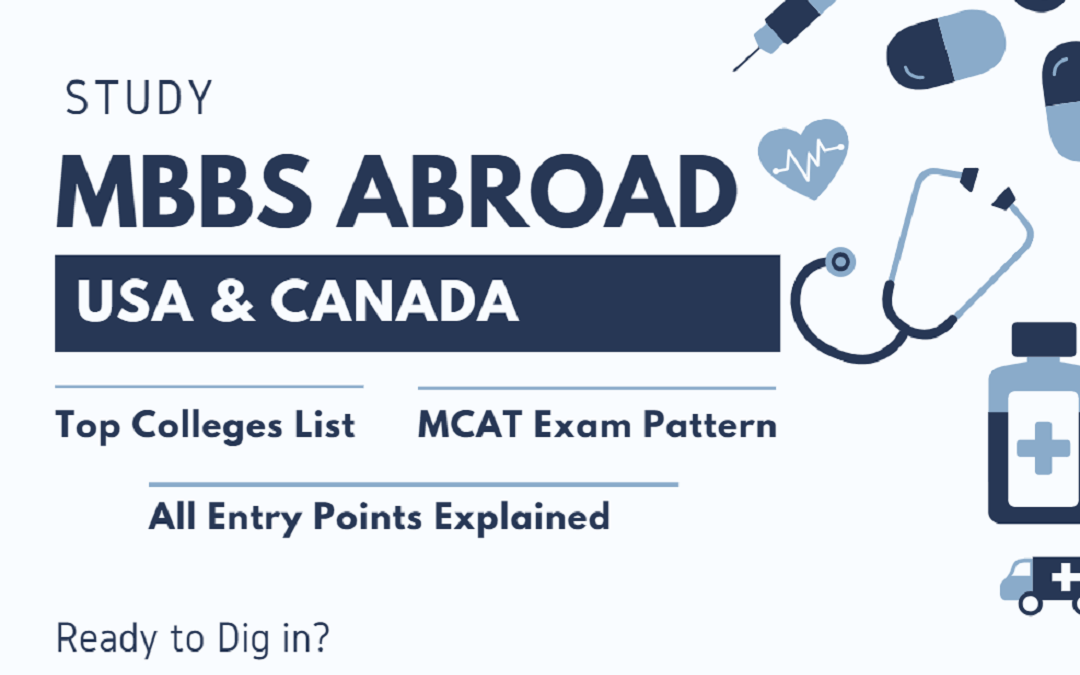 Study MBBS Abroad: Your #1 How-To Guide for USA & Canada
