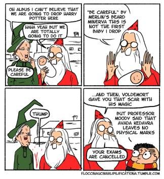 irresponsible-dumbledore-funny-harry-potter-comics-floccinaucinihilipilificationa-2__700