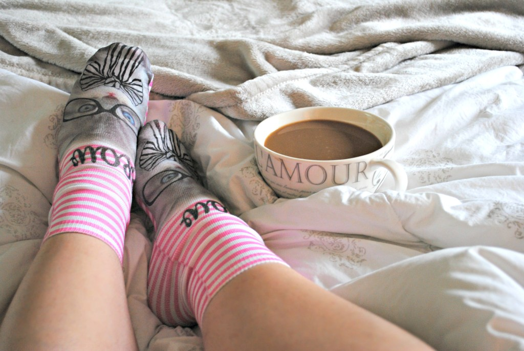 Fab five, cat socks, saturday, weekends, lifestyle blog, fashion, coffee, TJMaxx, gifts, morning, blog